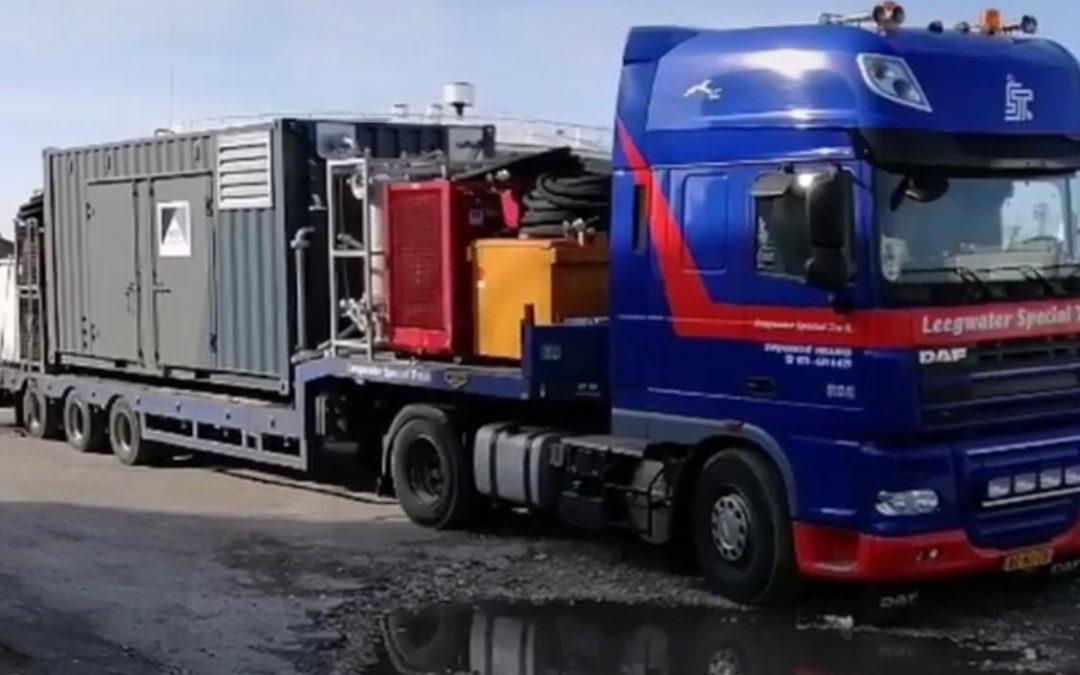 Transport naar Bulgarije